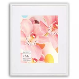 "16"" x 20"" Frame White - Snap | Target"