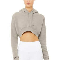 Alo Yoga®   Limited-Edition Exclusive Higher Hoodie in Stone, Size: Large   Alo Yoga