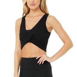 Swirl Tank Top in Black, Size: Large   Alo Yoga®   Alo Yoga