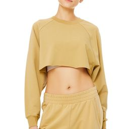 Double Take Pullover Top in Honey, Size: Large   Alo Yoga®   Alo Yoga