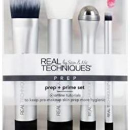 Real Techniques Prep + Prime Set, Skincare Tool Set for Serums, Masks, & Primers | Amazon (US)