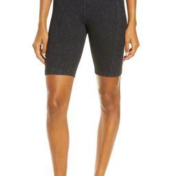 Snow Wash Rib Bike Shorts | Nordstrom