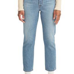 501® High Waist Crop Straight Leg Jeans | Nordstrom