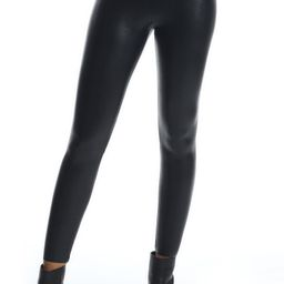 7/8 Faux Leather Control Leggings   Nordstrom