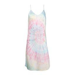 Multi Tie Dye Mini Slip Dress | Dannijo