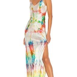 Tie-Dye Slip Dress                                          DANNIJO | Revolve Clothing (Global)