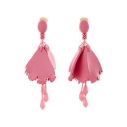 Large Impatiens Clip Earrings | Neiman Marcus