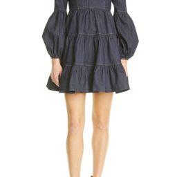 Rose Long Sleeve Stretch Denim Dress   Nordstrom