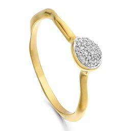 Siren Small Pavé Diamond Stacking Ring   Nordstrom