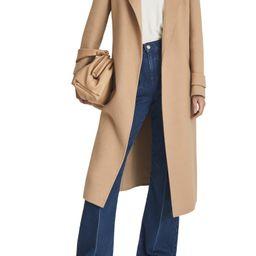 Leah Wool Blend Wrap Coat   Nordstrom