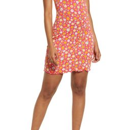 Print Knit Minidress | Nordstrom