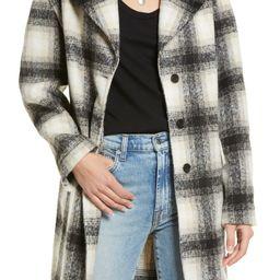 Drop Shoulder Plaid Coat | Nordstrom