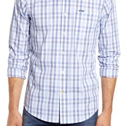 Jones Tailored Fit Check Button-Down Shirt | Nordstrom