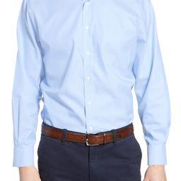 Men's Shop Smartcare™ Traditional Fit Pinpoint Dress Shirt | Nordstrom