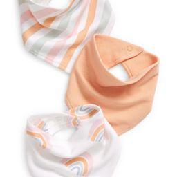 3-Pack Cotton Bandana Bibs | Nordstrom