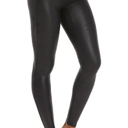 Mama Faux Leather Maternity Leggings   Nordstrom