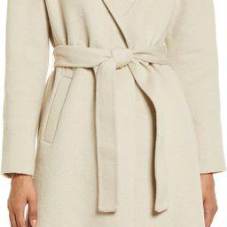 Belted Wool Blend Coat | Nordstrom