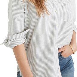 Oversize Ex-Boyfriend Button-Up Shirt | Nordstrom