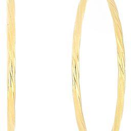 14K Gold Twisted Hoop Earrings   Nordstrom