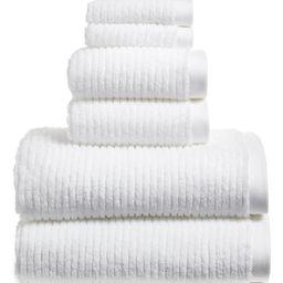 6-Piece Hydro Organic Cotton Blend Bath Towel, Hand Towel & Washcloth Set   Nordstrom