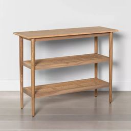Wood & Cane Console Table - Hearth & Hand™ with Magnolia | Target