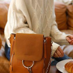 Sidewalk Stunner Brown Backpack   Lulus (US)