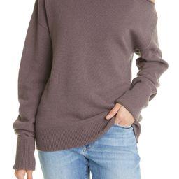 Raundi Cutout Wool-Blend Turtleneck Sweater   Nordstrom