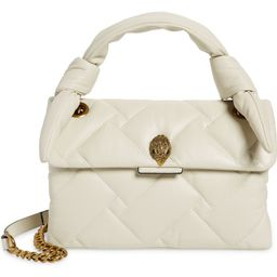 Kensington Knot Handle Quilted Leather Crossbody Bag | Nordstrom