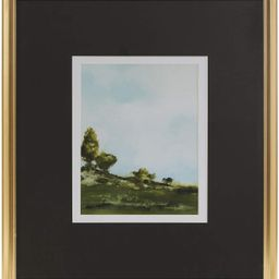 MARTHA STEWART Across The Plains 1 Wall Art Living Room Landscape Print Double Mat Canvas Home Ac... | Amazon (US)