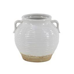 "10"" White Stoneware Vintage Planter | Michaels Stores"
