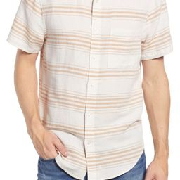 Reeves Stripe Short Sleeve Perfect Shirt | Nordstrom