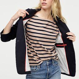 Petite Regent blazer in wool flannel | J.Crew US