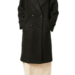 Oversize Double Breasted Faux Fur Coat   Nordstrom