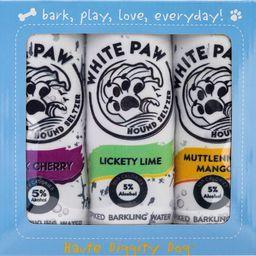 White Paw 3-Piece Variety Pack Plush Dog Toy Set   Nordstrom