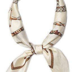 Kerchief Neck Scarf Women Square Kerchief, LITOON Silk Scarf Bandanas Headband 23.6x23.6 inch   Amazon (US)