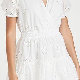 Reese Smocked Waist Tiered Mini Dress | Shopbop