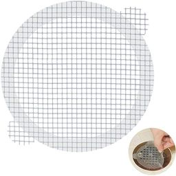 Aire Allure, 25 Pack, Disposable Shower Drain Hair Catcher Mesh Stickers | Amazon (US)
