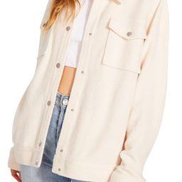 Fleece Shirt Jacket   Nordstrom   Nordstrom