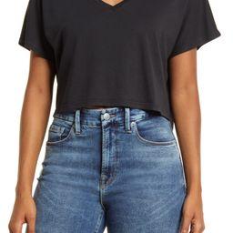 V-Neck Dolman Crop T-Shirt   Nordstrom   Nordstrom