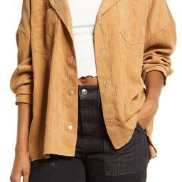 Women's Oversized Corduroy Shirt Jacket   Nordstrom   Nordstrom