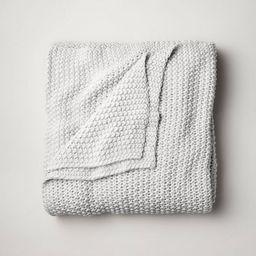 Chunky Knit Bed Blanket - Casaluna™   Target