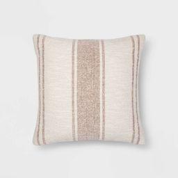 Woven Striped Throw Pillow - Threshold™   Target