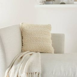 """18""""x18"""" Life Styles Woven Striped Square Throw Pillow - Mina Victory   Target"""