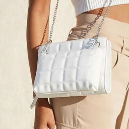 Quilted Dual Crossbody Bag | Forever 21 (US)