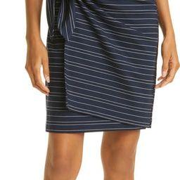 Twansia Stripe Side Twist Dress | Nordstrom