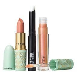 MAC Lip Primer, Lipstick & Lipglass Lip Gloss Set   Nordstrom