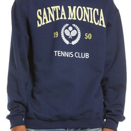 Santa Monica Tennis Club Graphic Sweatshirt | Nordstrom