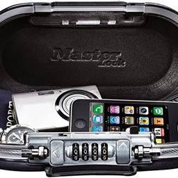 Master Lock 5900D Set Your Own Combination Portable Safe, 9-17/32 in. Wide, Gunmetal Grey   Amazon (US)
