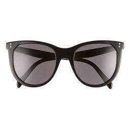 53mm Cat Eye Sunglasses   Nordstrom