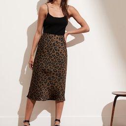 Satin Bias-Cut Midi Skirt | Banana Republic (US)